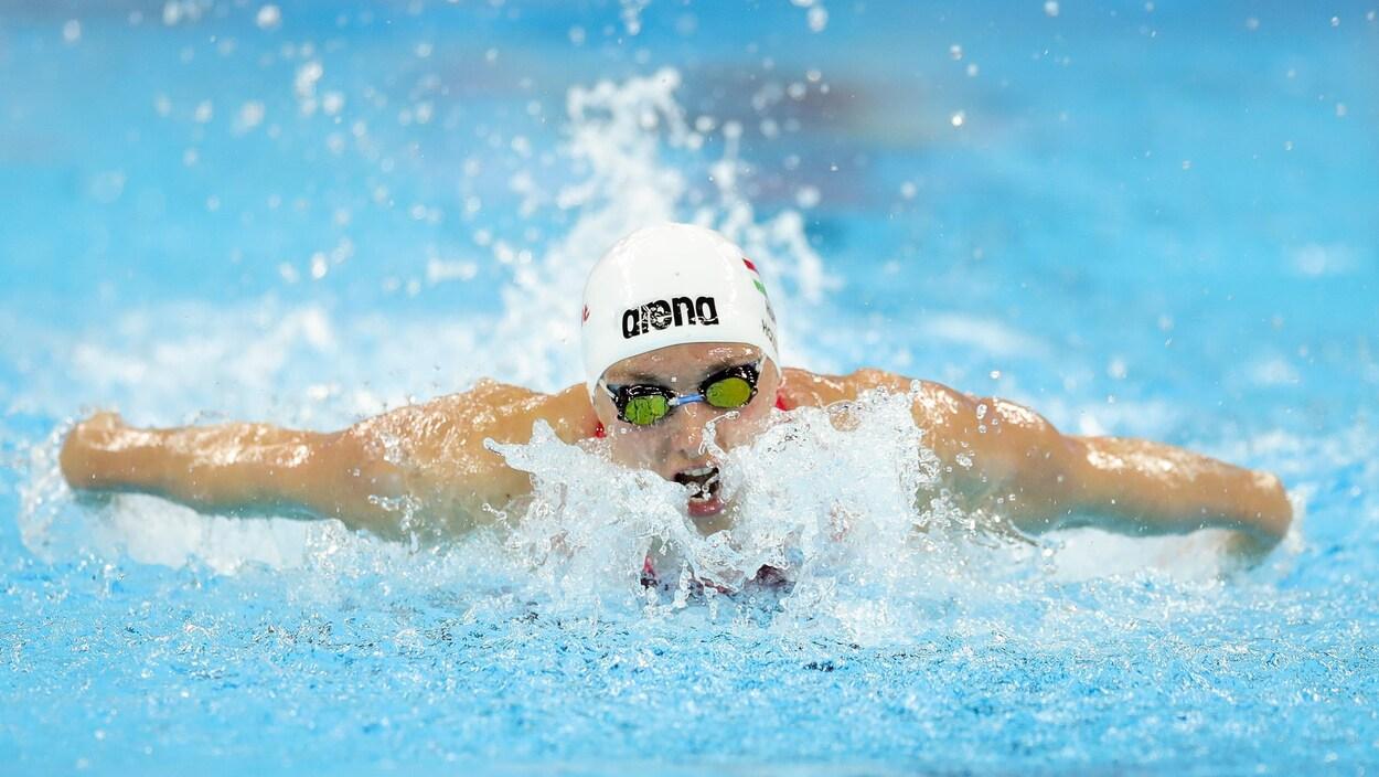 Katinka Hosszu nage le papillon