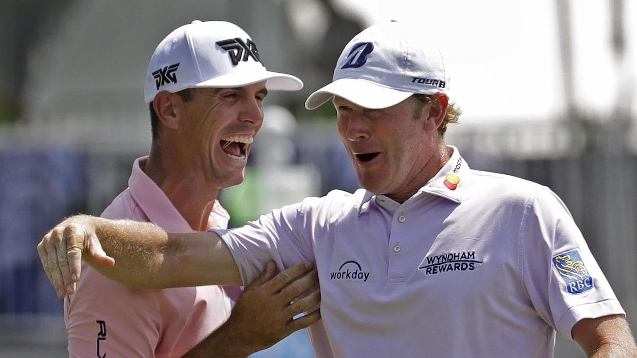 Brandt Snedeker mène par un coup après les trois premières rondes du Championnat Wyndham, dernier tournoi de la saison de la PGA.
