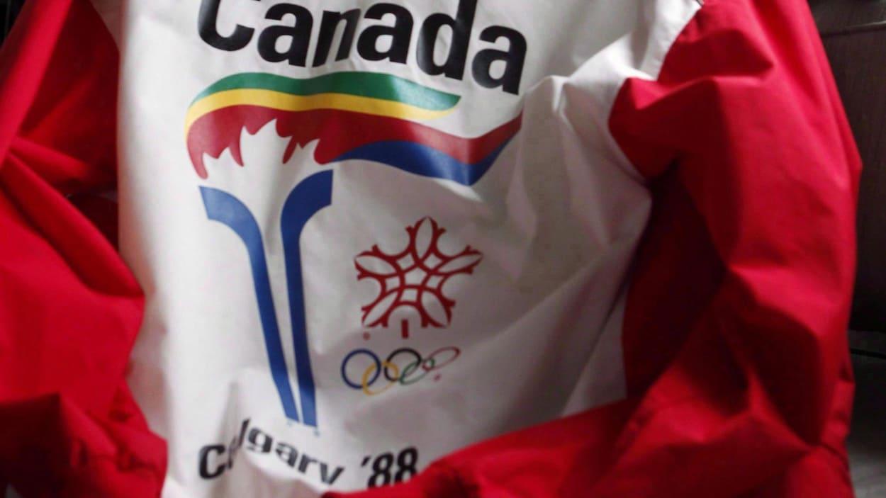 Le logo des Olympiques de Calgary en 1988
