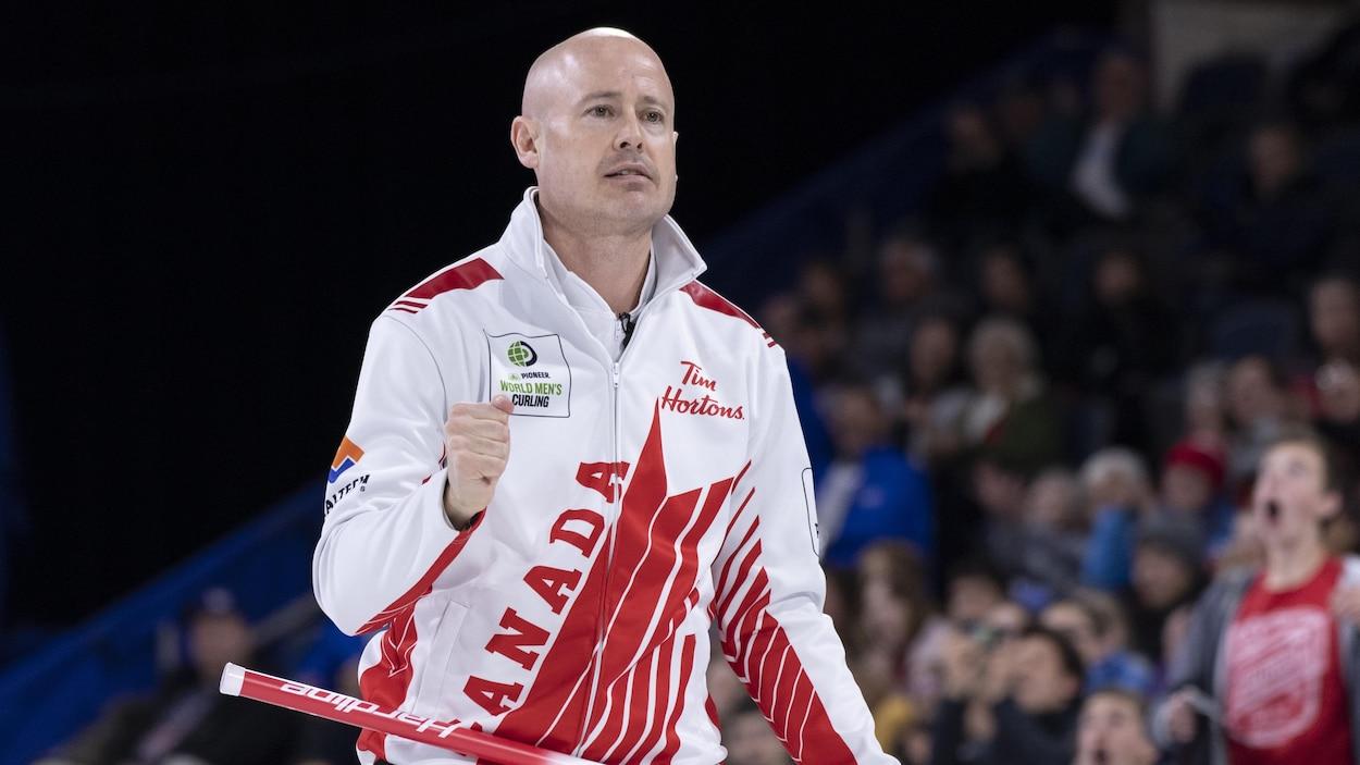 Le capitaine du Canada, Kevin Koe