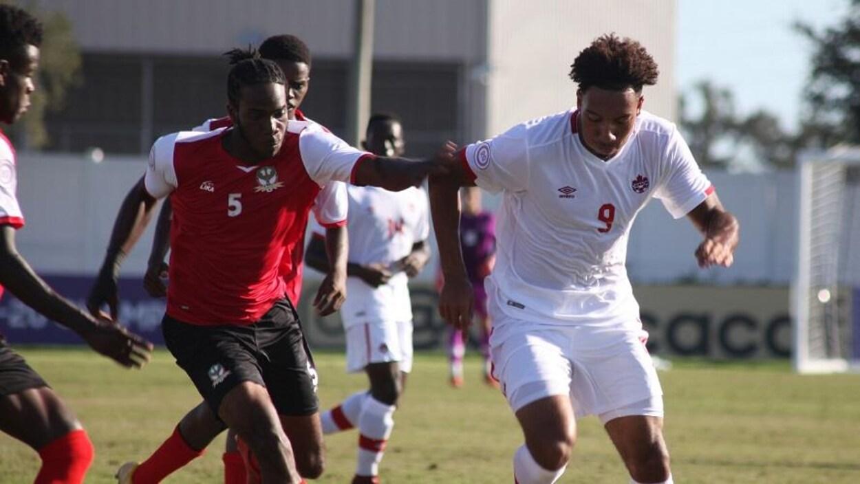 Le Canada affronte Saint-Kitts-et-Nevis au Championnat de la CONCACAF U-20.