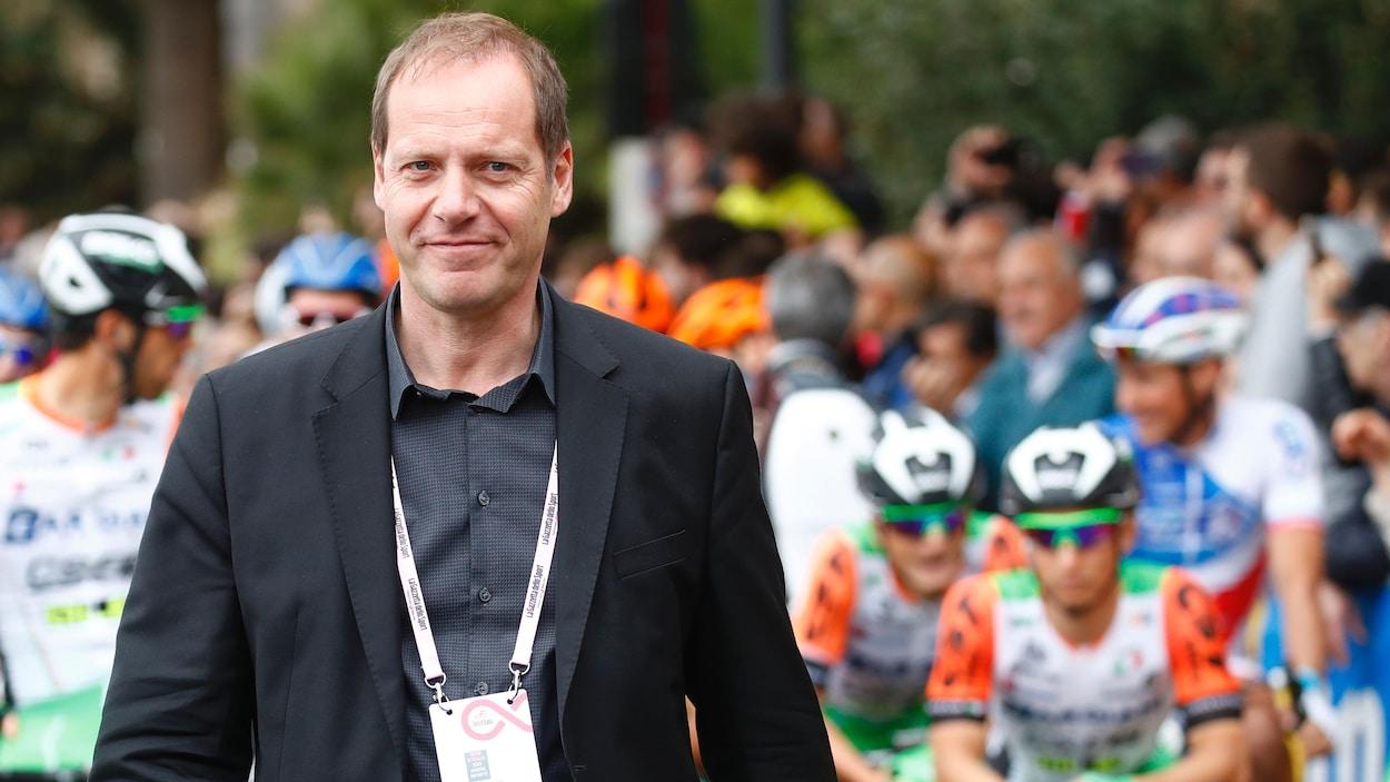 Le directeur du Tour de France Christian Prudhomme