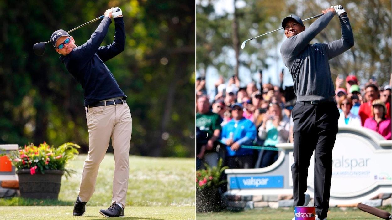 Tiger Woods partage le sommet — PGA