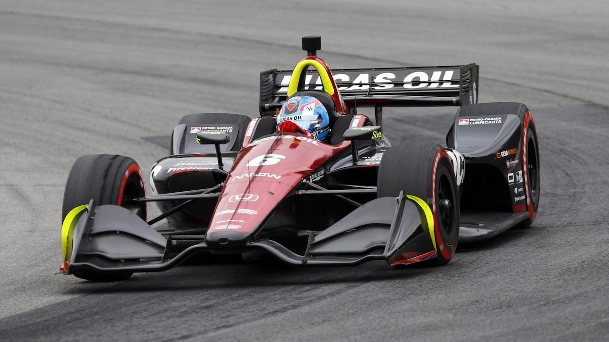 Robert Wickens impliqué dans un accident violent — Indycar IndyCar
