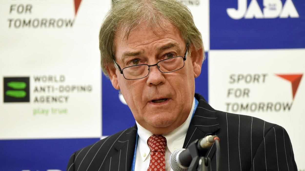 David Howman en conférence de presse