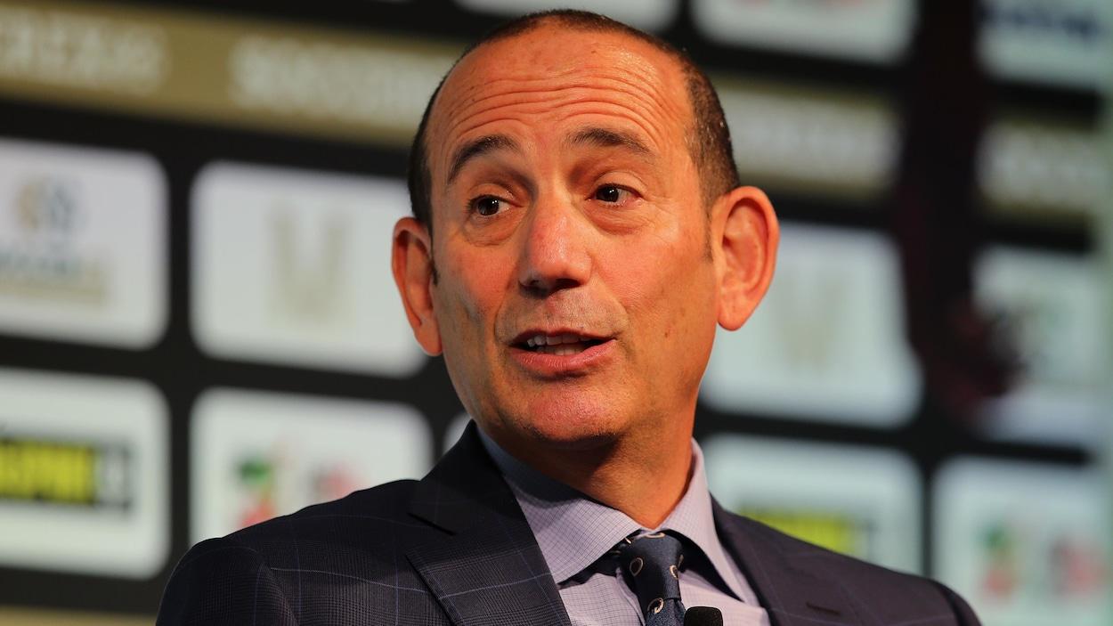 Le commissaire de la MLS, Don Garber.