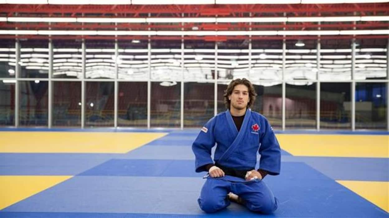 Le judoka Etienne Briand a décroché l'argent chez les moins de 81 kg au Grand Prix de Cancun