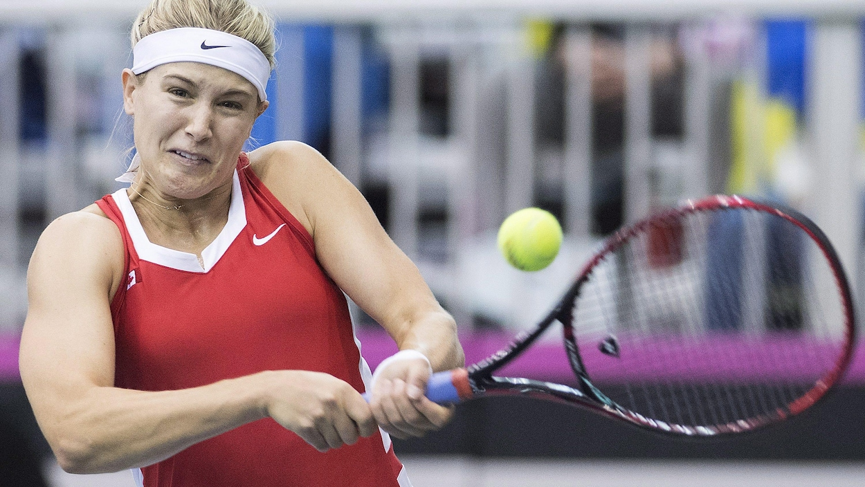 Eugenie Bouchard expéditive face à Carol Zhao — Flushing Meadows