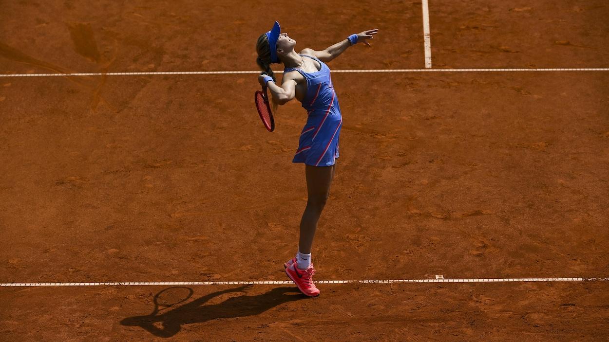 Eugenie Bouchard en demi-finale à Istanbul