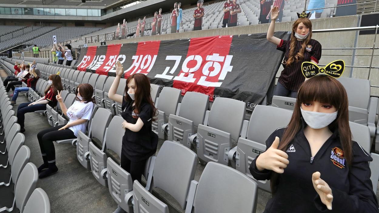 Des poupées sexuelles en tribunes? Un club sud-coréen s'excuse — Foot