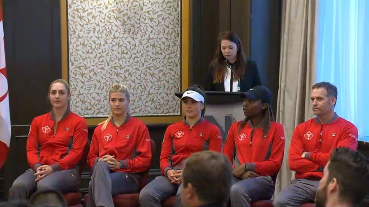 Bianca Andreescu devrait se mesurer à Kateryna Bondarenko — Coupe Fed