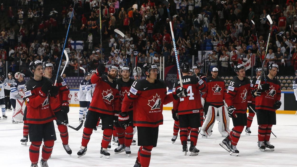 L'équipe canadienne de hockey
