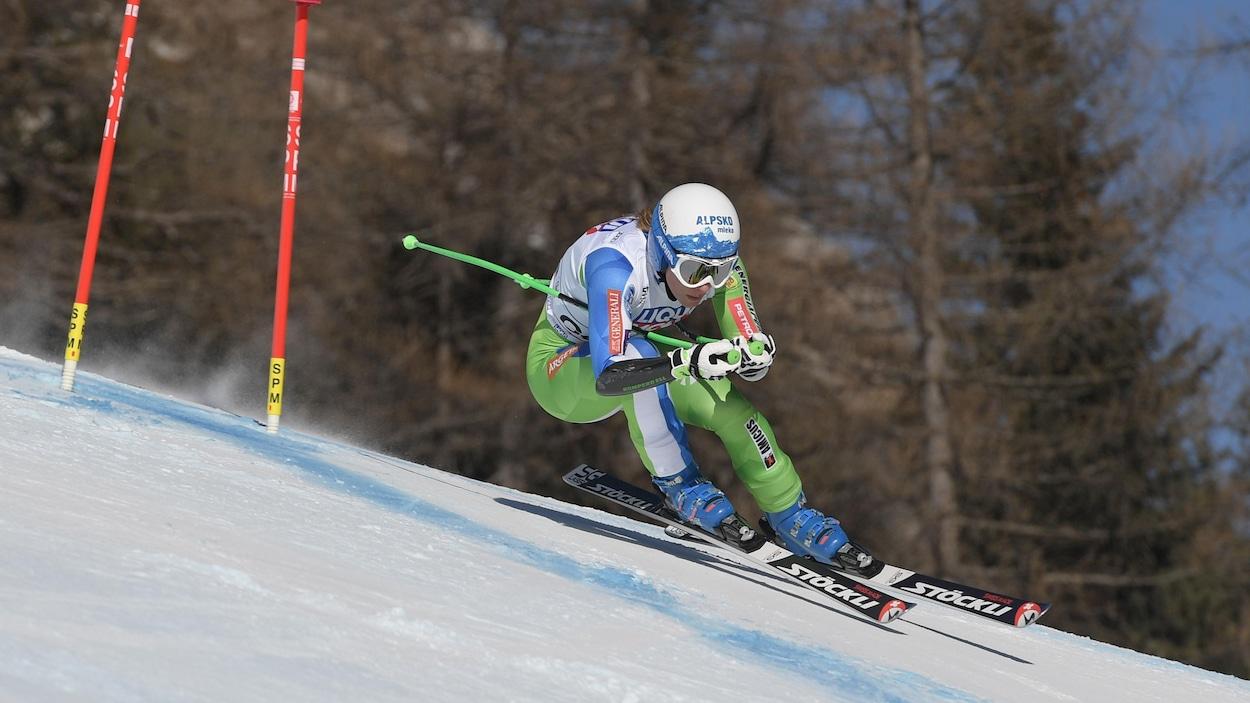 Ski: Ilka Stuhec se déchire les ligaments croisés