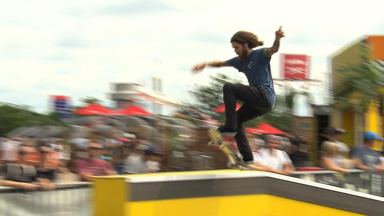 Jean-Sébastien Lapierre en action à Montréal