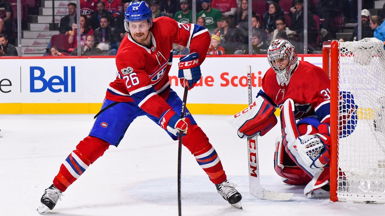 Jeff Petry et Carey Price.
