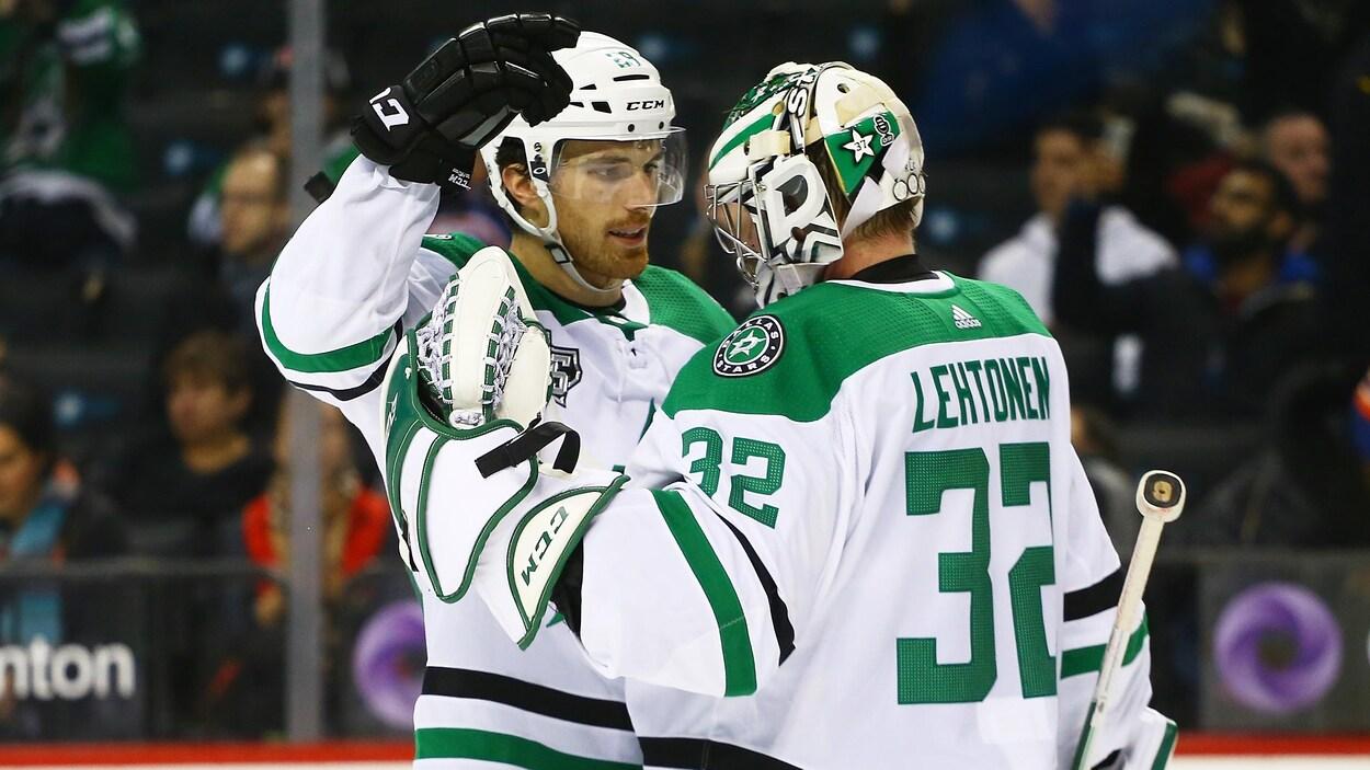 Lehtonen récolte sa 300e victoire contre les Islanders