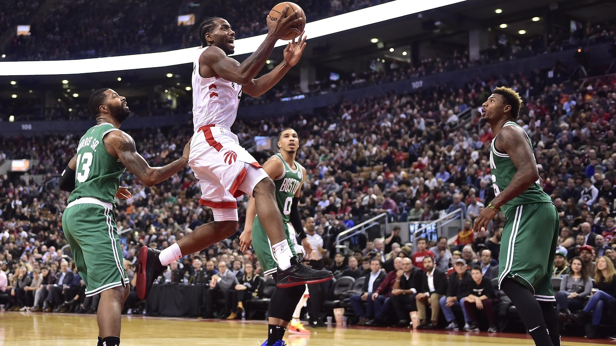 Kawhi Leonard des Raptors de Toronto