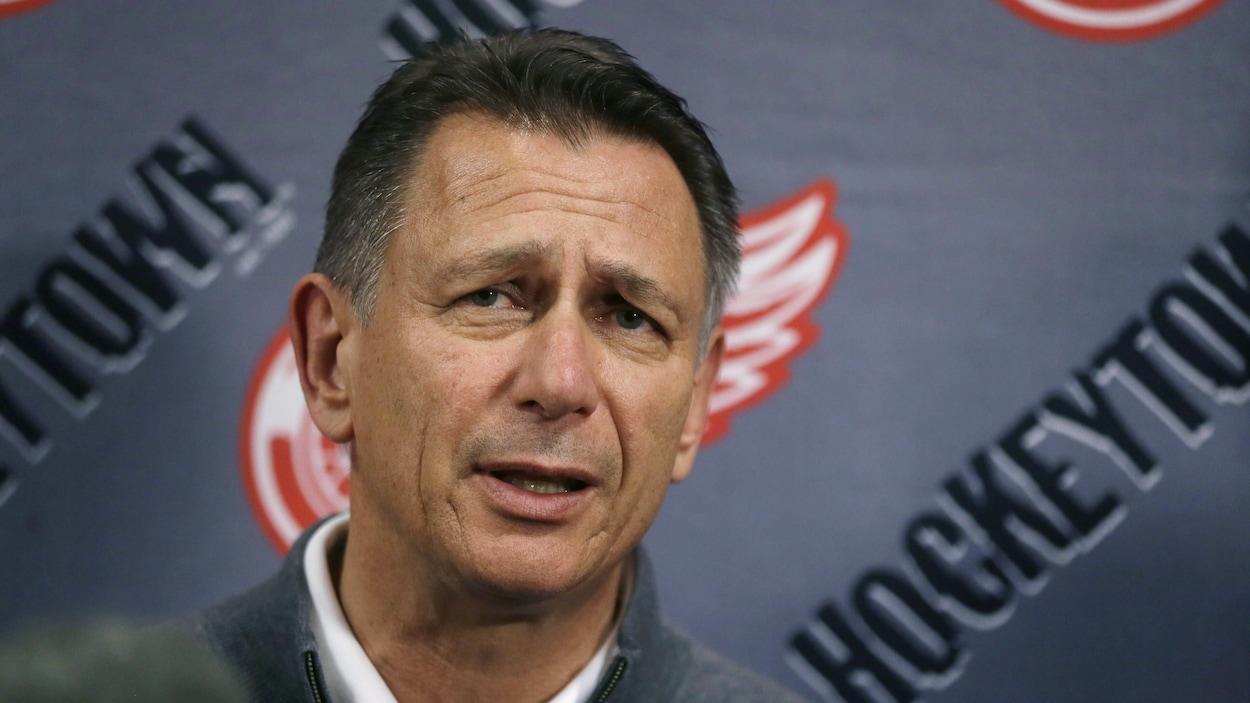 Red Wings: deux autres saisons pour Holland