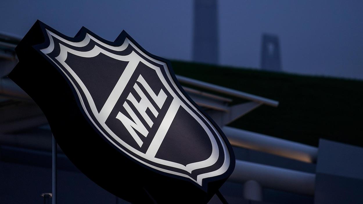 Un logo de la LNH