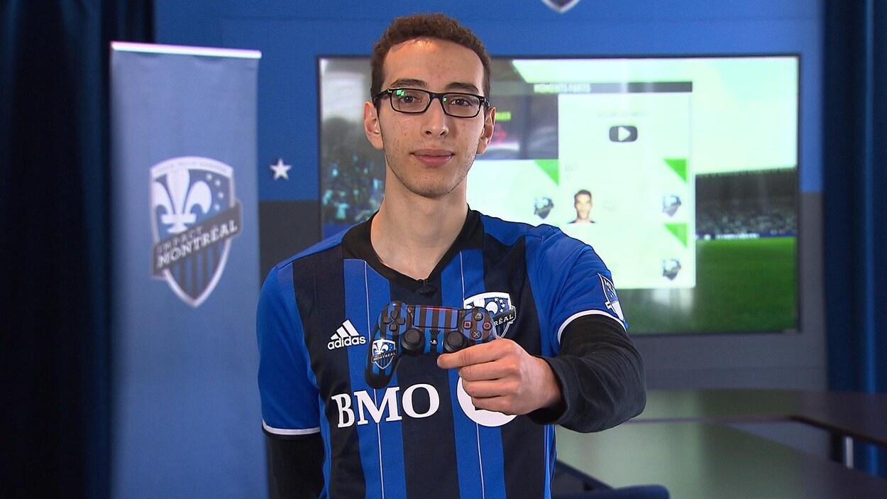 Lyes Ould-Ramoul, joueur de sport électronique de l'Impact de Montréal