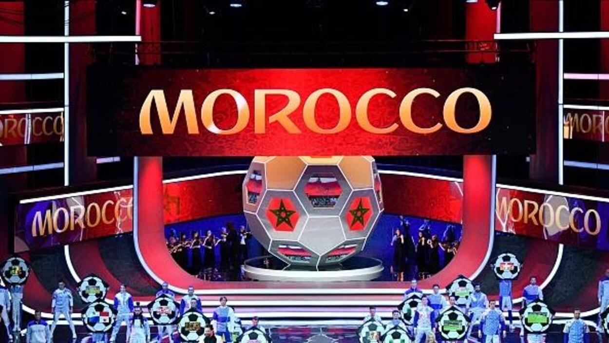 Le nom du Maroc sort durant le tirage au sort pour la Coupe du monde de 2018