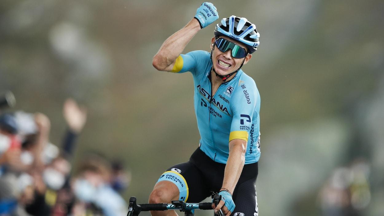 Tour de France : la 17e étape à Lopez, Roglic accroît son avance | Radio-Canada.ca