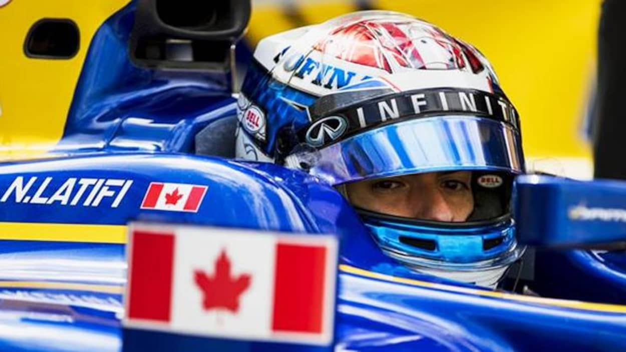 Nicholas Latifi devient pilote d'essai en F1