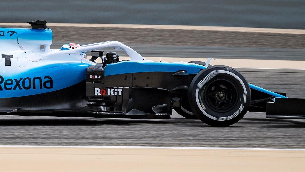 Nicholas Latifi dans la Williams FW42