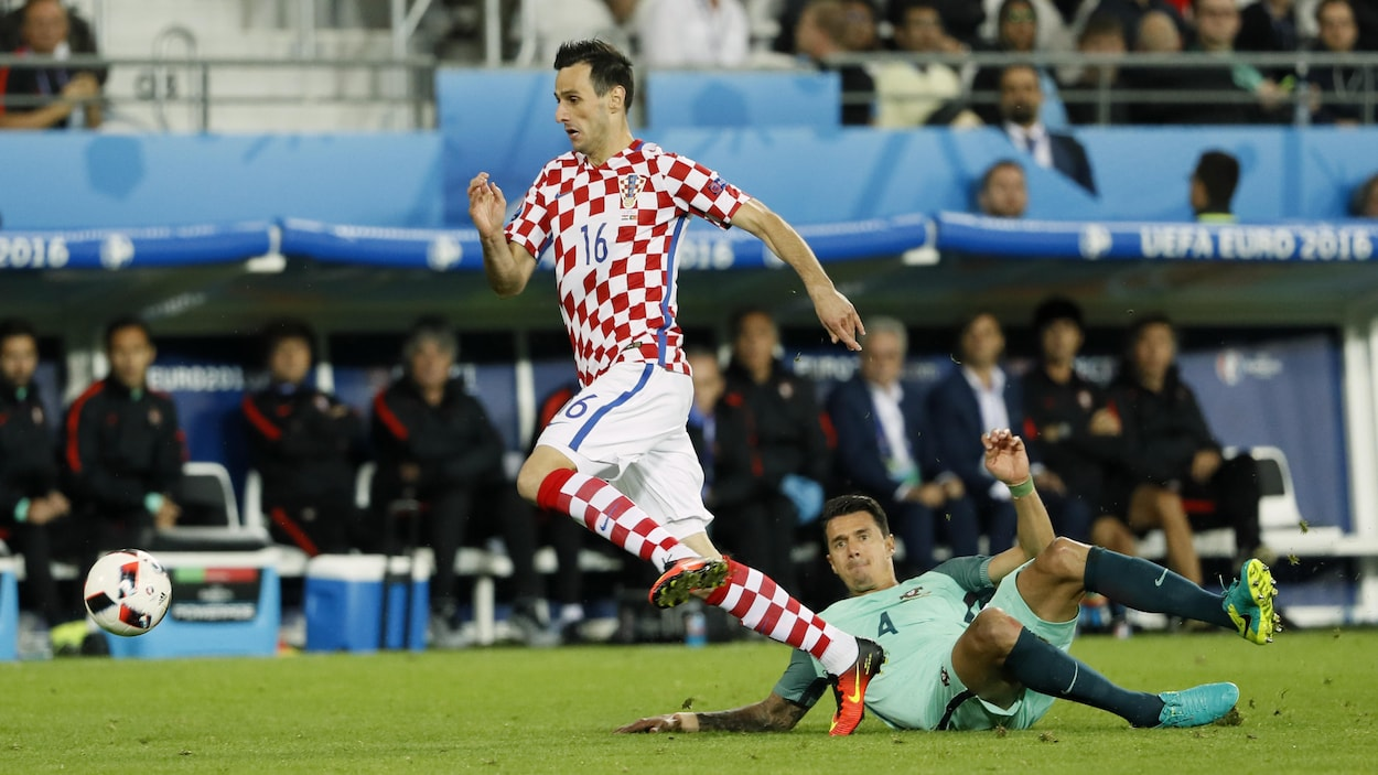 L'attaquant croate Nikola Kalinic