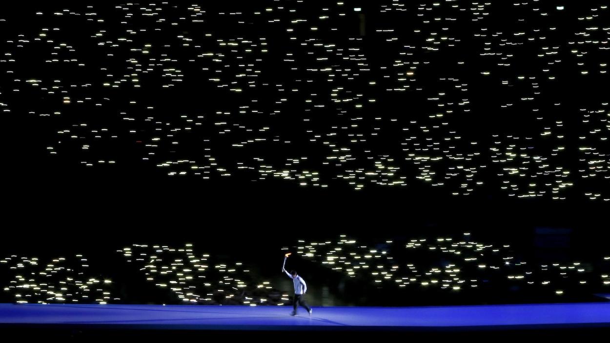 Cérémonie d'ouverture des Jeux asiatiques d'hiver, à Sapporo en 2017