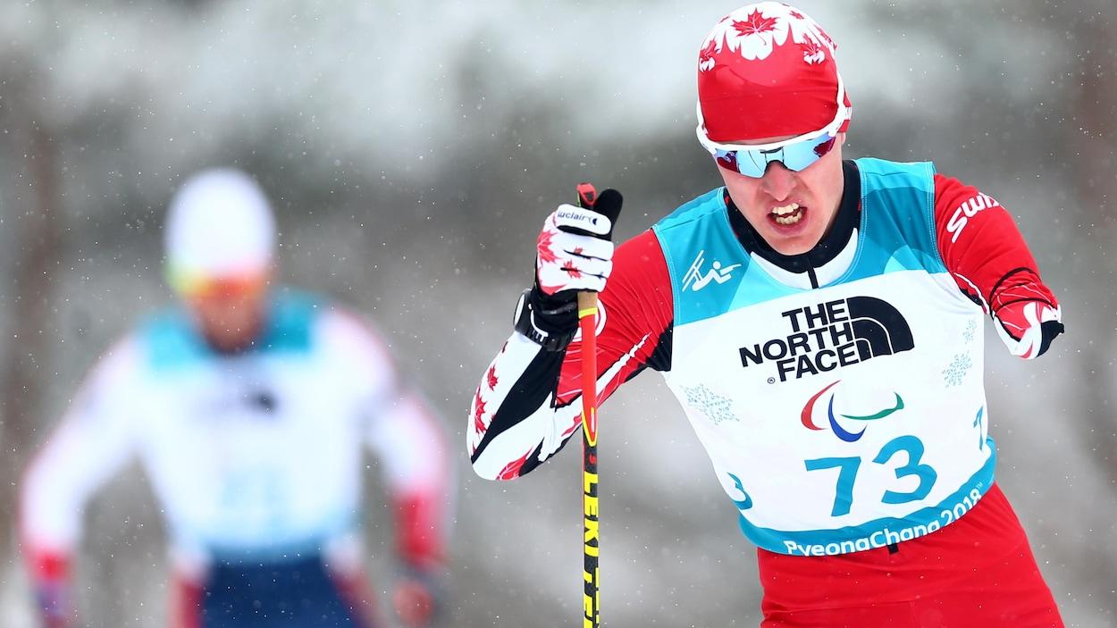 Mark Arendz aux Jeux paralympiques de Pyeongchang