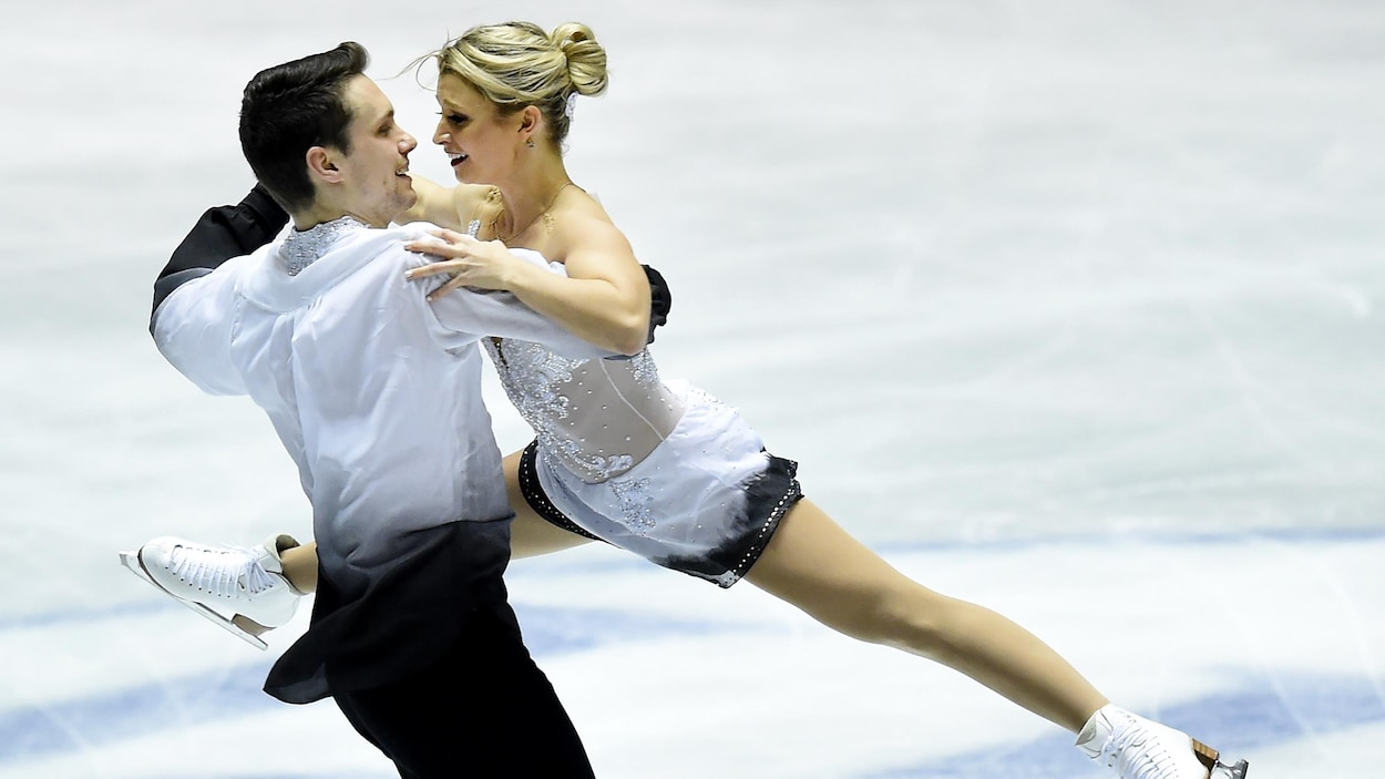 Les Canadiens Kirsten Moore-Towers et Michael Marinaro remportent l'or en couple à la Classique internationale des États-Unis