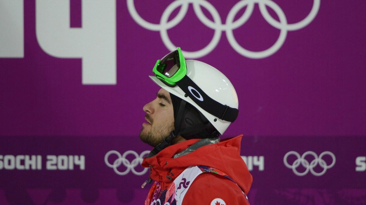 Philippe Marquis aux Jeux olympiques de Sotchi en 2014