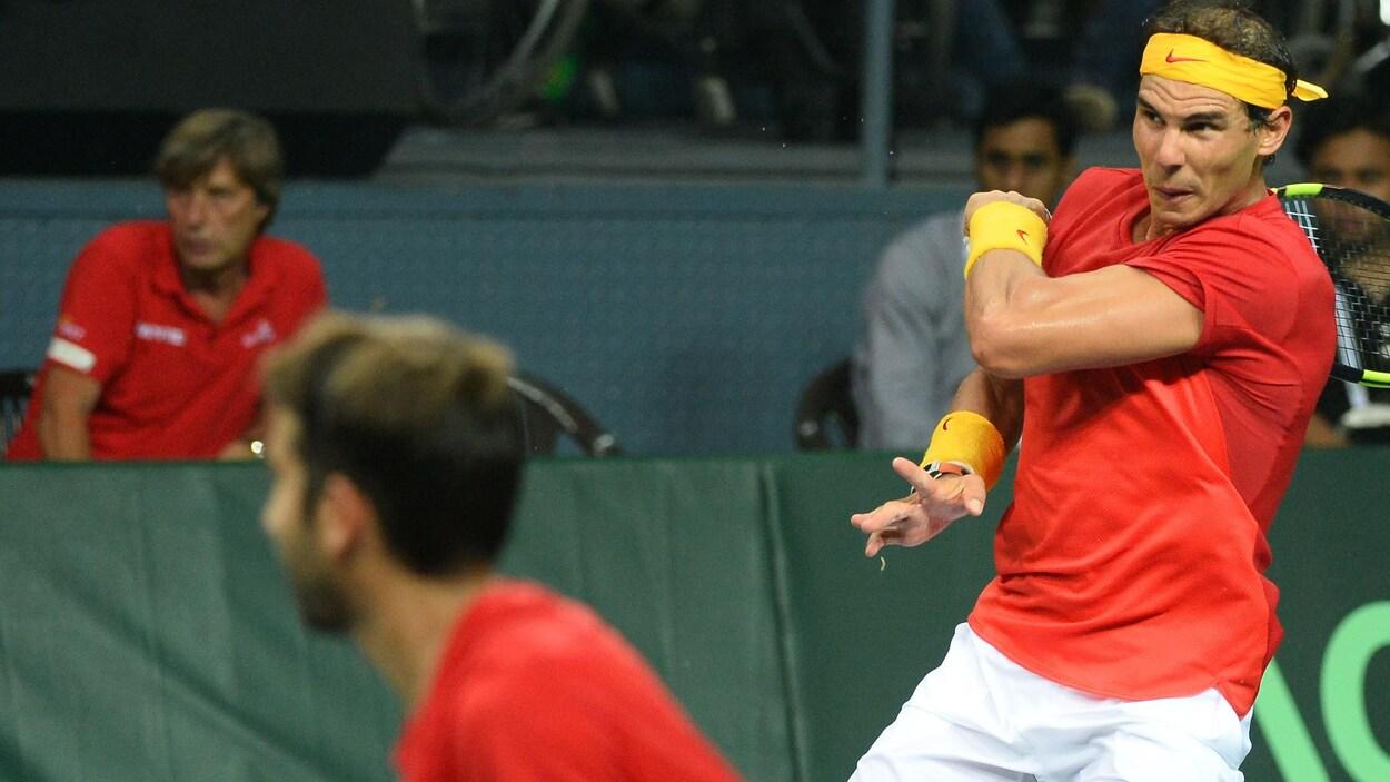 Nadal affrontera l'Allemagne en Coupe Davis