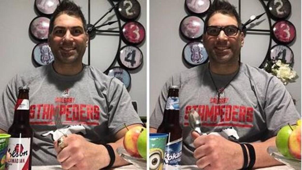 Deux photographies de Randy Chevrier qui se ressemblent, mais qui en fait comptent 10 différences.