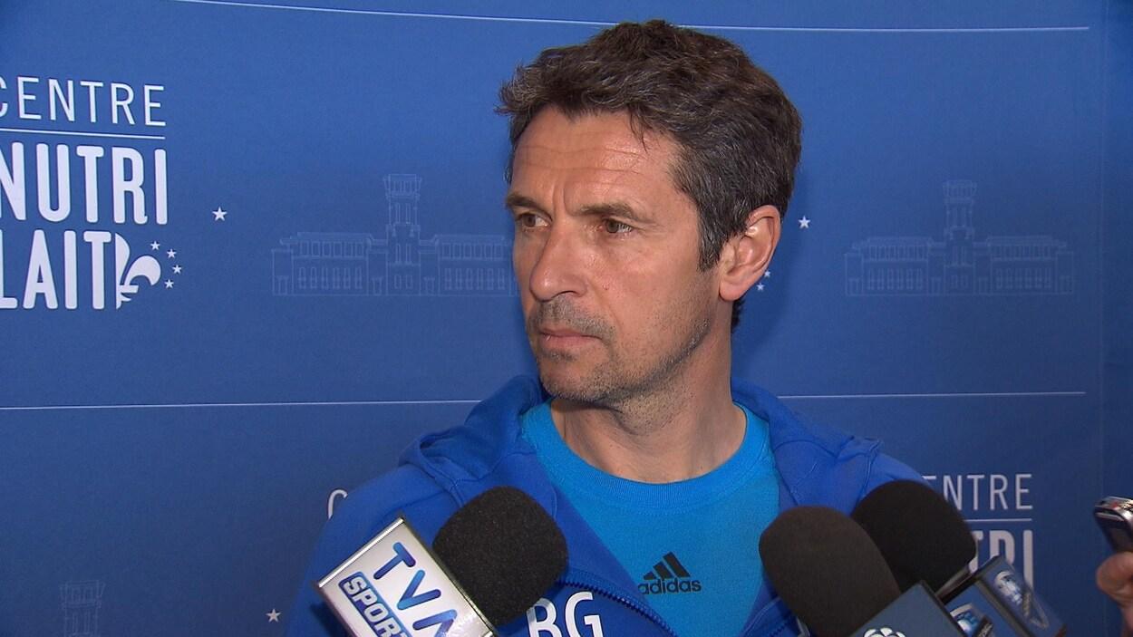Rémi Garde, entraîneur-chef de l'Impact de Montréal