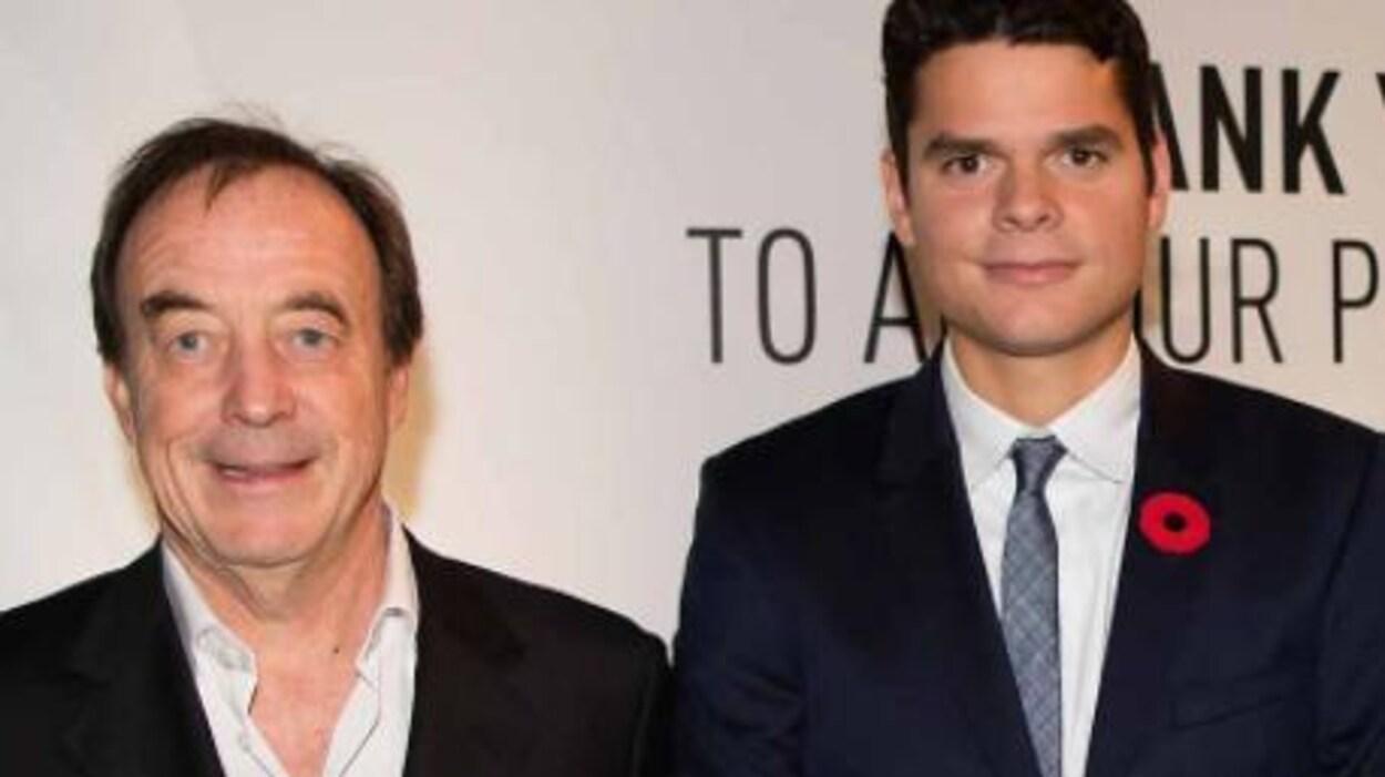 Riccardo Piatti et Milos Raonic