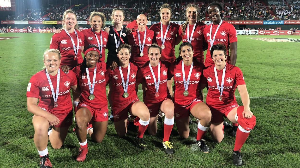 Les Canadiennes se sont de nouveau inclinées devant les Néo-Zélandaises aux Séries mondiales de rugby à 7.