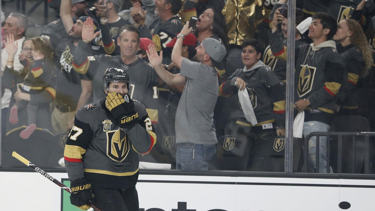 Les Golden Knights battent les Kings 1-0