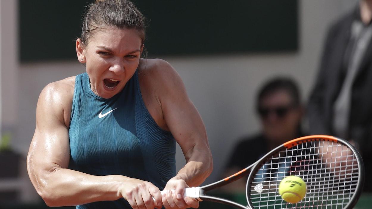 Simona Halep se qualifie pour la finale — Roland-Garros
