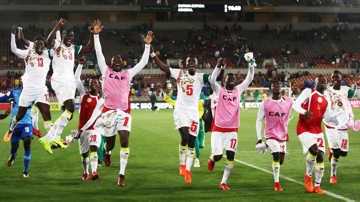 Victoire du Sénégal contre l'Afrique du Sud