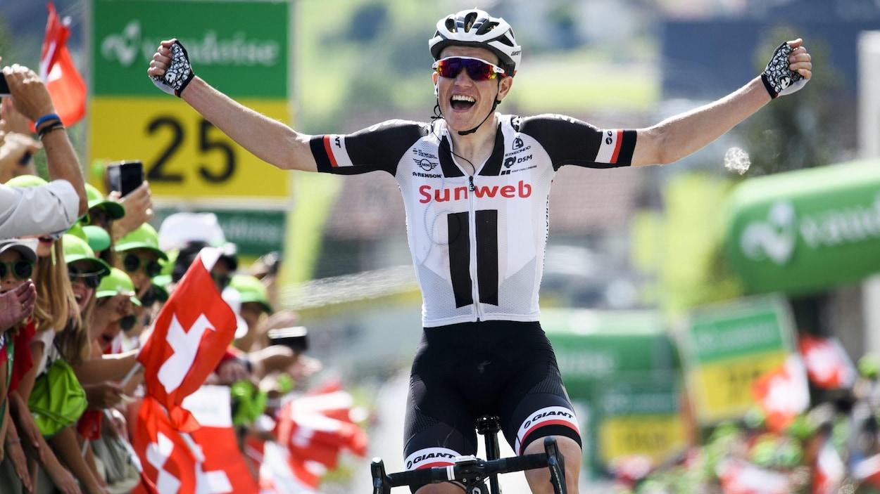 Monfort offensif et 4e, Soren Kragh Andersen s'impose — Tour de Suisse