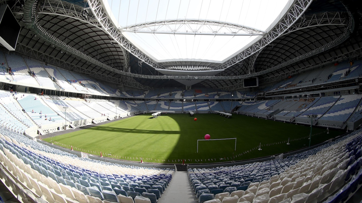 Le stade Al-Wakrah au Qatar