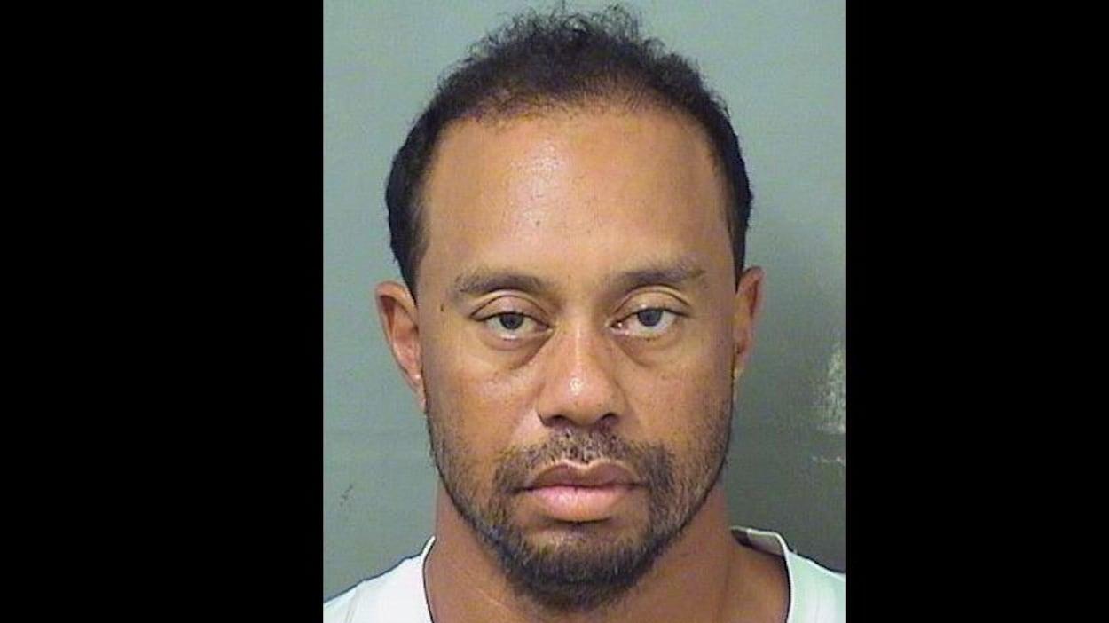 Photo d'identité judiciaire de Tiger Woods