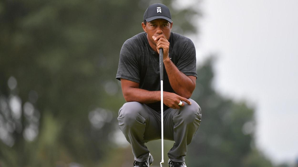 Etats-Unis: après six années d'absence, Woods retrouve la Ryder Cup