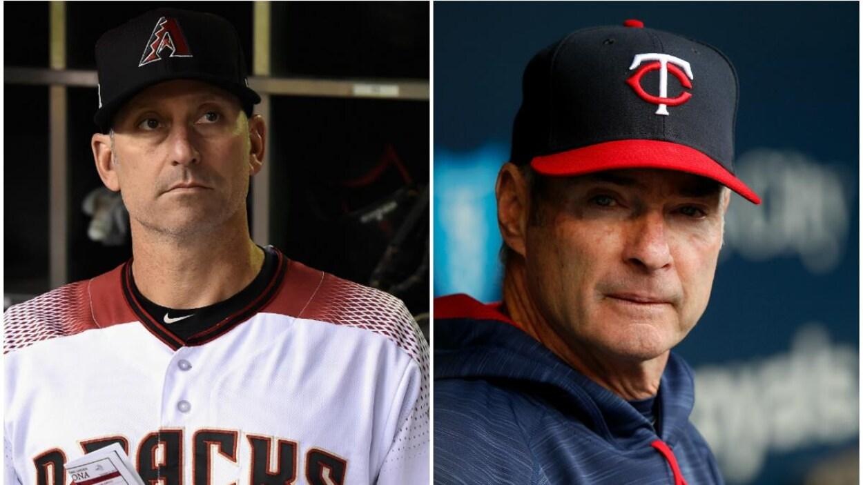 Torey Lovullo et Paul Molitor, les gérants de l'année dans le baseball majeur