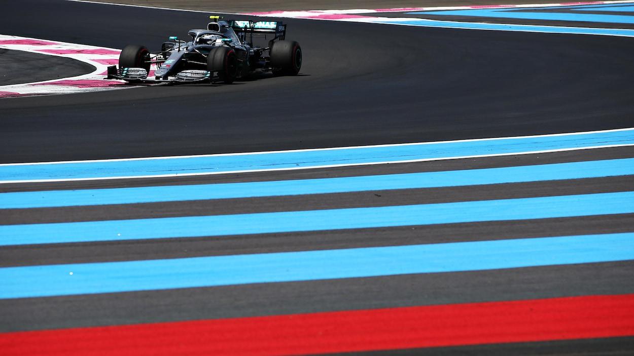 Valtteri Bottas sur le circuit Paul-Ricard
