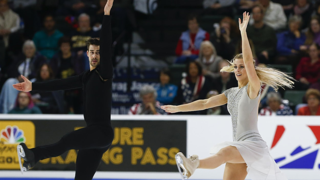 Zachary Donohue et Madison Hubbell