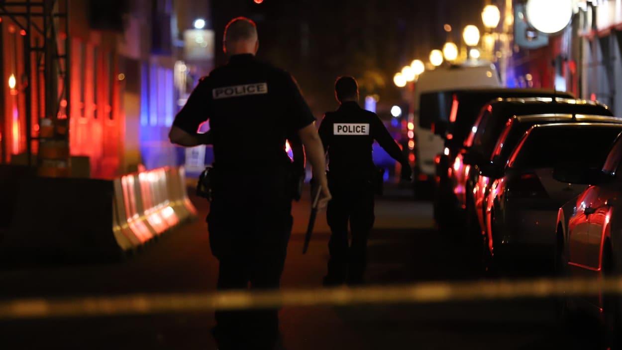 L'agression a eu lieu sur la rue Saint-Paul.