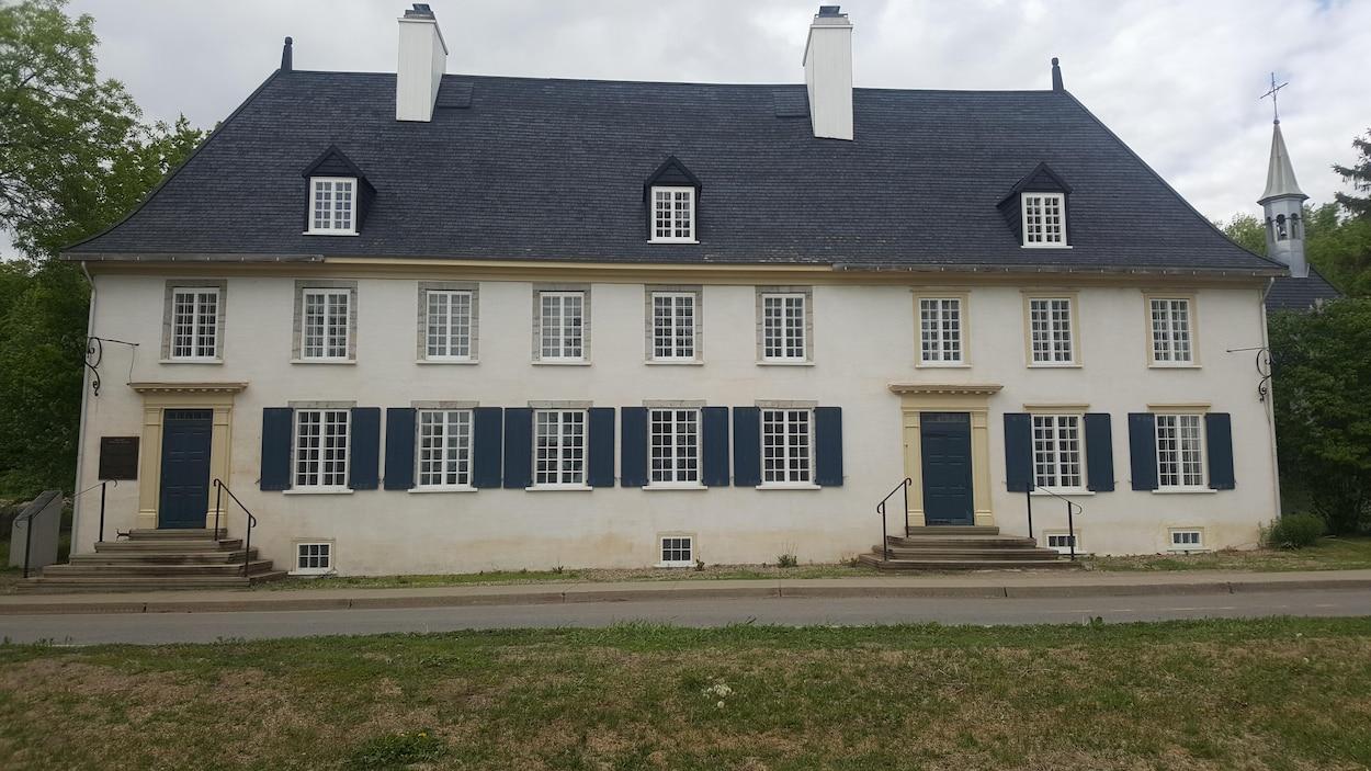 Le manoir Mauvide-Genest, à Saint-Jean-de-l'Île-d'Orléans.